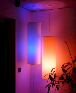 Philips Hue Lampen in bunt