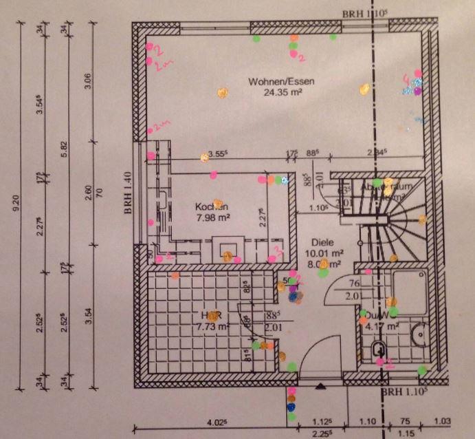Neubau mit KNX - Das Erdgeschoss