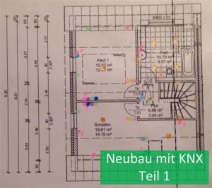 Neubau mit KNX Teil 1