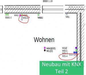 KNX selbst planen - Blog Neubau Teil 2