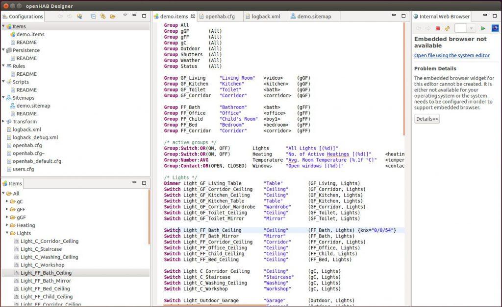 OpenHAB Designer Und Visualisierung: Anbindung An Den KNX Bus