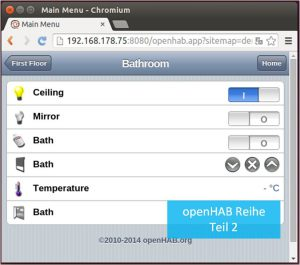 openHAB Designer und Visusalisierung