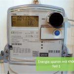 Energie sparen - typischer Stromverbrauch im EFH