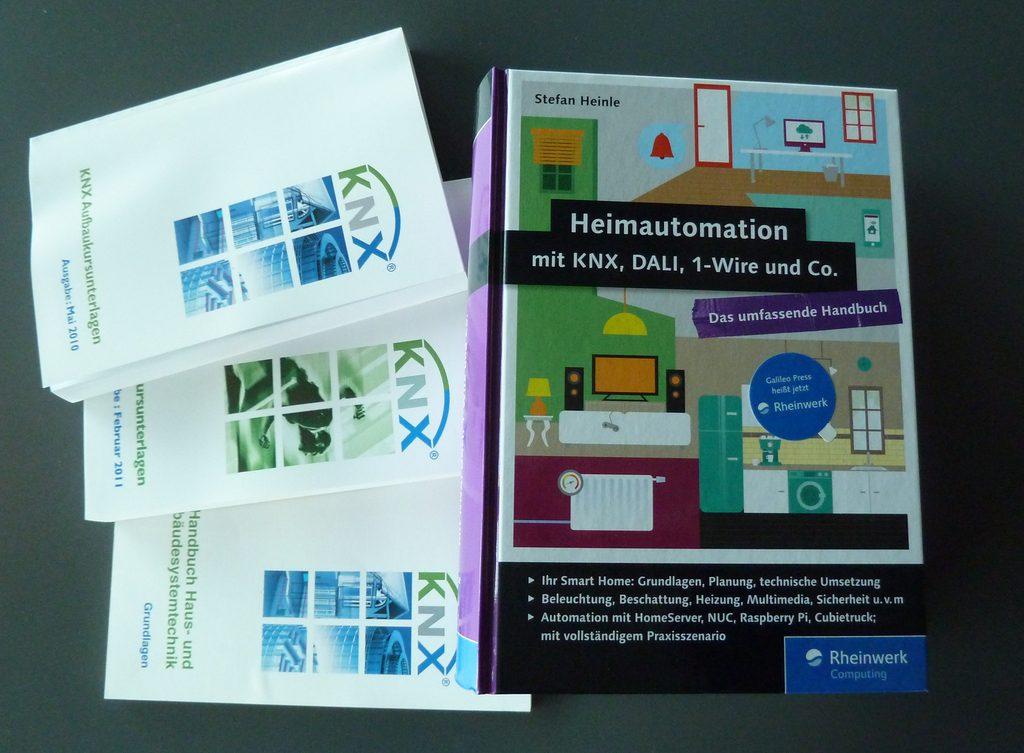 KNX lernen - Heimautomation mit KNX, DALI, 1-Wire und Co.