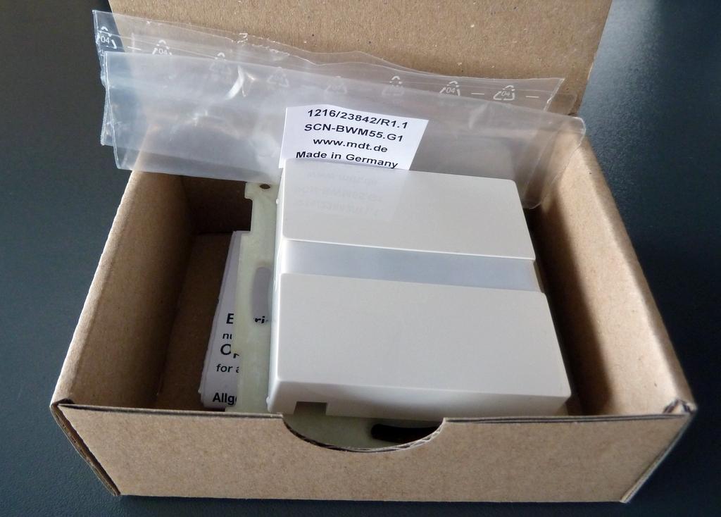 MDT Bewegungsmelder SCN-BWM55.G1 verpackt
