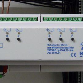 Stromverbrauch messen mit KNX