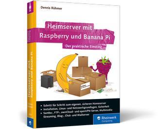 Buch: Heimserver mit Raspberry Pi und Banana Pi