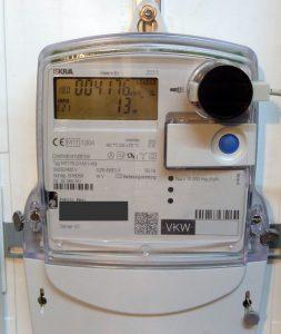Stromverbrauch messen mit IR-Lesekopf