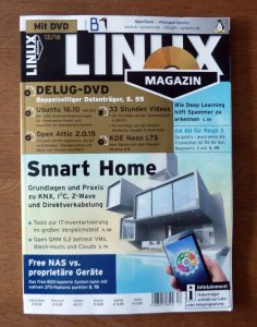 smart home in wohnwerken und im linux magazin. Black Bedroom Furniture Sets. Home Design Ideas
