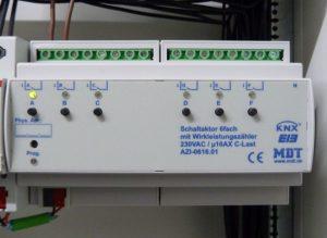 MDT Schaltaktor mit Wirkleistungsmessung AZI-0616.01